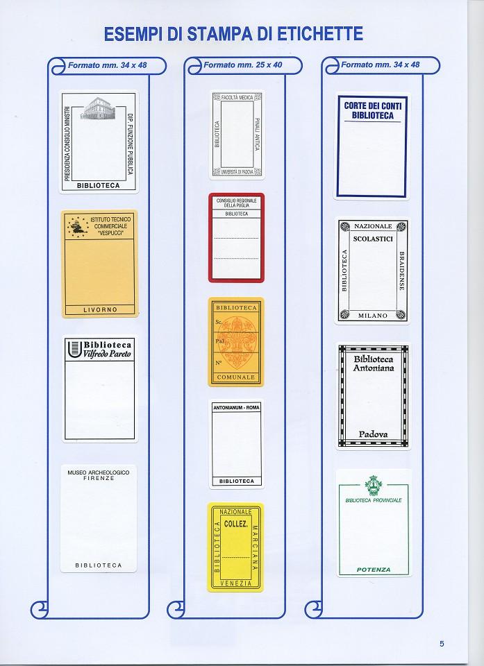 abbastanza Tirrenia srl Etichette autoadesive Tirr-Grip | etichette adesive  LI12