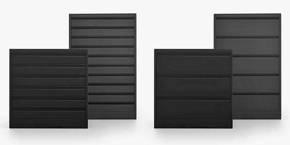 Tirrenia srl cassettiera porta cd e dvd a 3 5 cassetti cassettiere per cd mobili per cd - Mobile porta cd ...