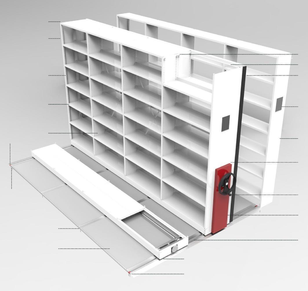 Scaffalature Per Biblioteca.Tirrenia Srl Scaffalature Compattabili Per Biblioteche